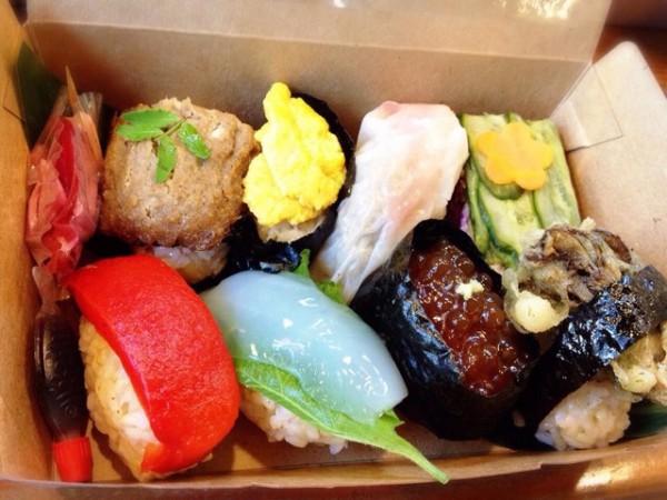 ビーガン海鮮寿司箱