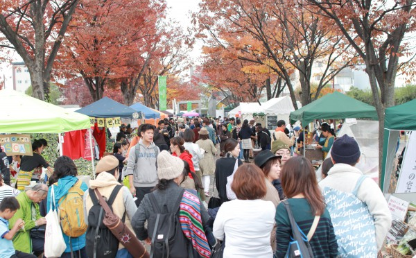 京都ビーガングルメ祭り2016会場
